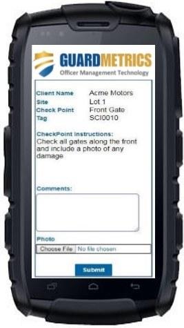 Guard Company Patrol Software