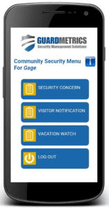 Neighborhood Watch App